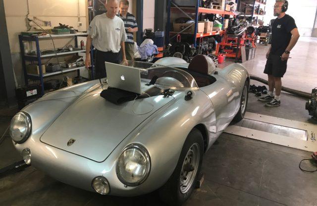 Porsche Spyder 550 Replica en alu