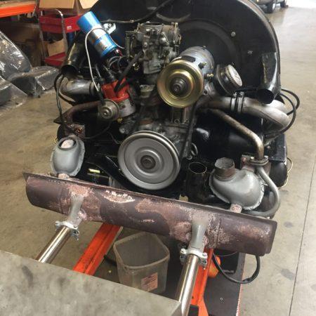 Assemblage moteur Cox de 1969