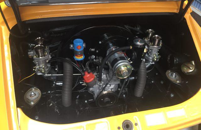 Montage moteur VW dans Porsche 912