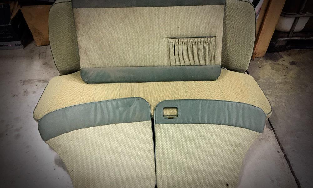 Banquette arrière & panneaux de portes COX 56-57