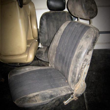 Sièges PORSCHE 356 Noir