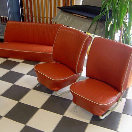 Sellerie : sièges & banquette Cox