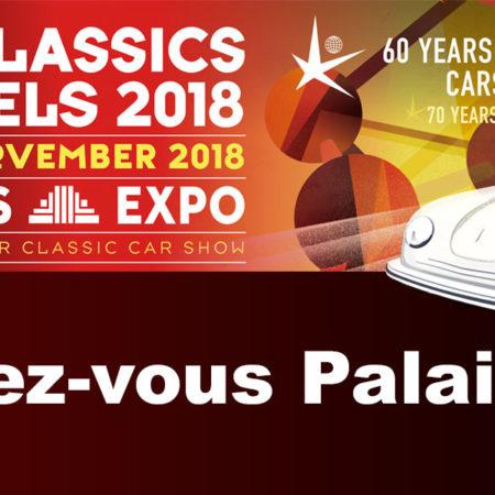 Nous serons présents à l'InterClassics 2018