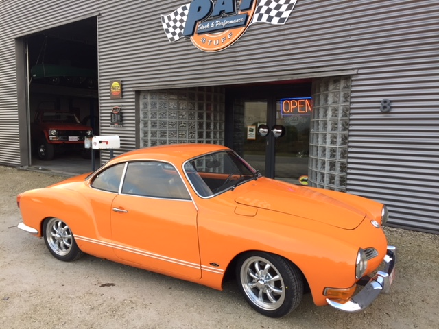 Karmann Ghia fraichement restaurée par un de nos clients !