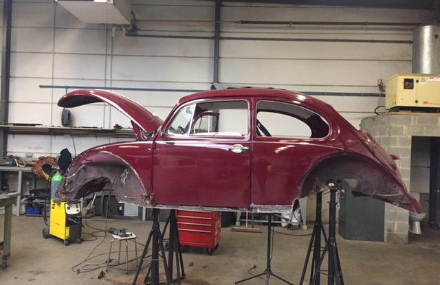 Réparation Cox 1200 de 1970