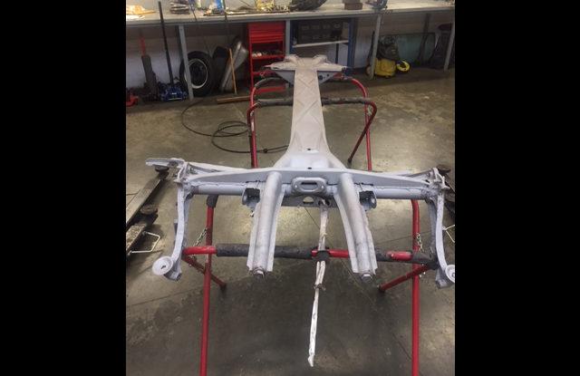 Nouveau projet châssis Buggy de 181
