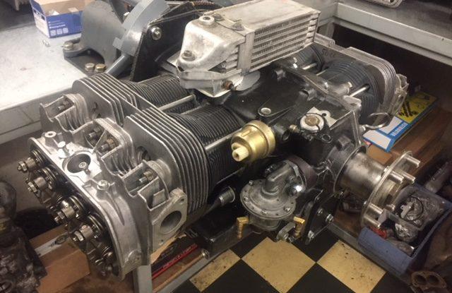 Assemblage moteur avion JPX 2,2l