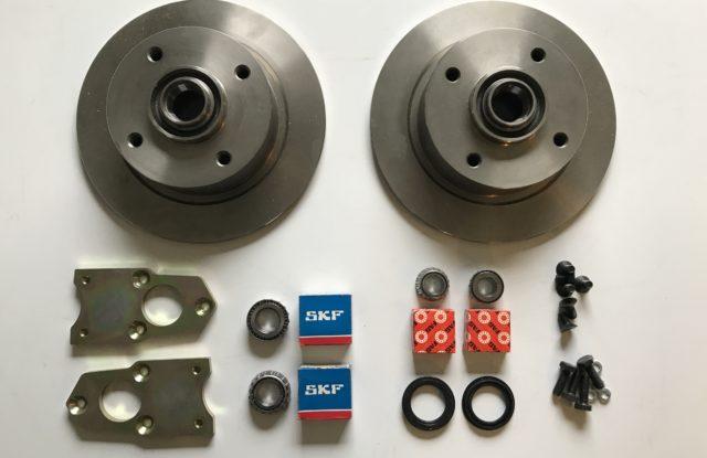 Kit freins disques pivots