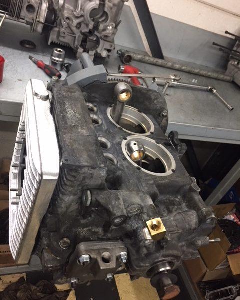 Nouveau projet : assemblage du bas moteur Type 3 Nochback
