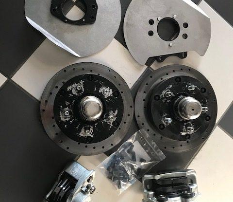 OCCAZ' : Kit disques avant CSP Bus