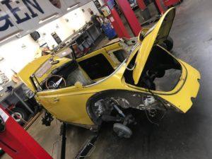 Projet Cox Cabriolet 1970 – PART1
