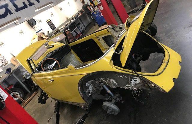 Projet Cox Cabriolet 1970 - PART1