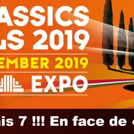Nous serons présents à l'InterClassics 2019