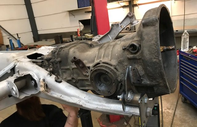 Suite de la restauration du châssis Buggy de 181 - étape 3