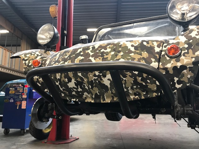 Projet buggy Camo off road- PART1