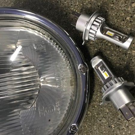 Kit ampoules LED 12 volts type H4 – Eclairage puissant