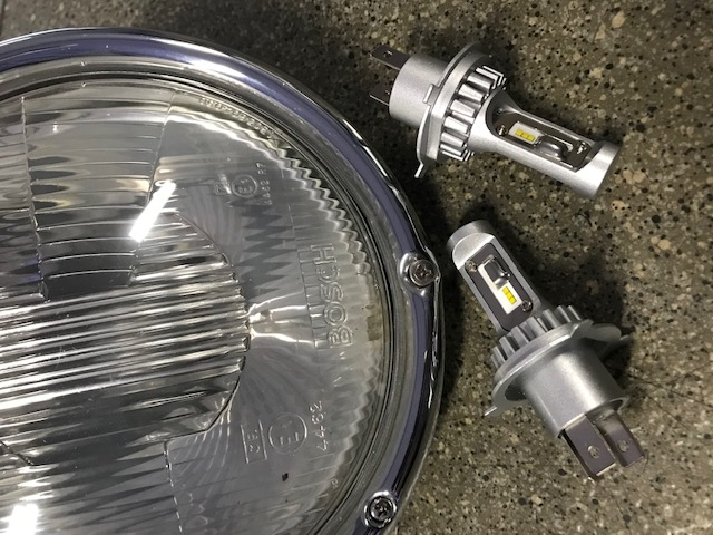 Kit ampoules LED 12 volts type H4 - Eclairage puissant