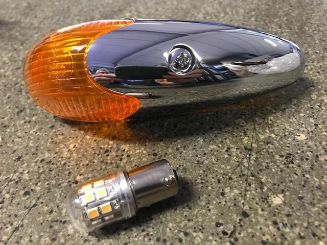 Ampoule LED - Pour clignotants et feux antibrouillard