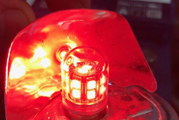 Ampoule LED rouge - Pour feux antibrouillard