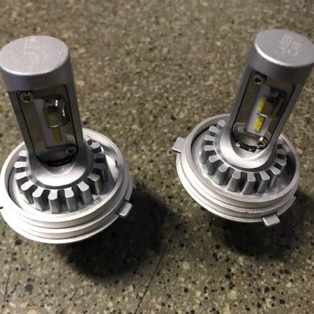 Kit ampoules LED 12 volts type R2