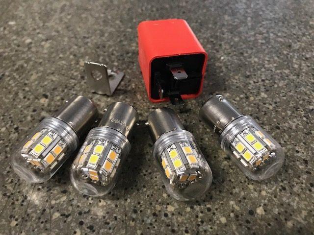 Kit 4 ampoules LED - Pour clignotants