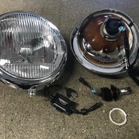 Kit ampoules LED 6 volts type R2