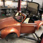 Réparation d'une Cabrio 1303 de 79