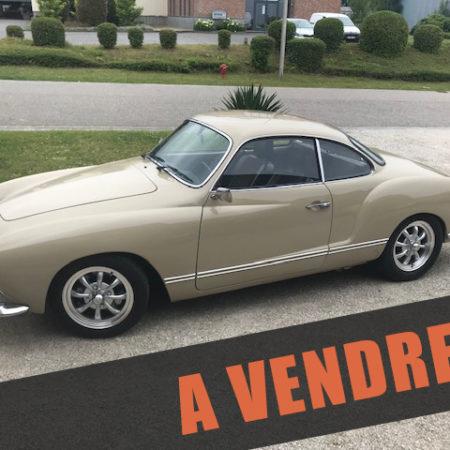 À VENDRE : Karmann Ghia 1970