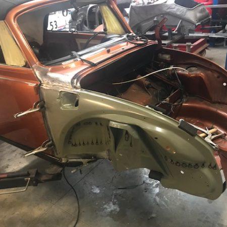 Réparation d'une Cabrio 1303 de 79 – PART 2