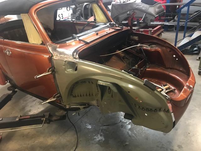 Réparation d'une Cabrio 1303 de 79 - PART 2