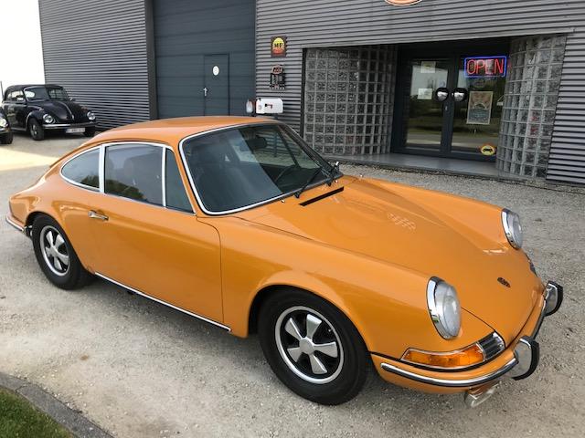 À VENDRE : Porsche 912 de 1969 Bahamas Gelb