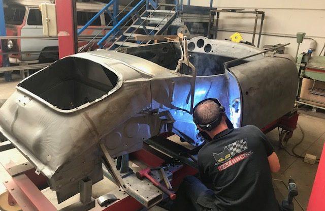 Projet de restauration 356 Speedster '58 - PART 8